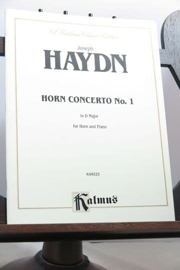 Haydn J - Concerto No 1 in D Hob VII d:3 for Horn and Piano